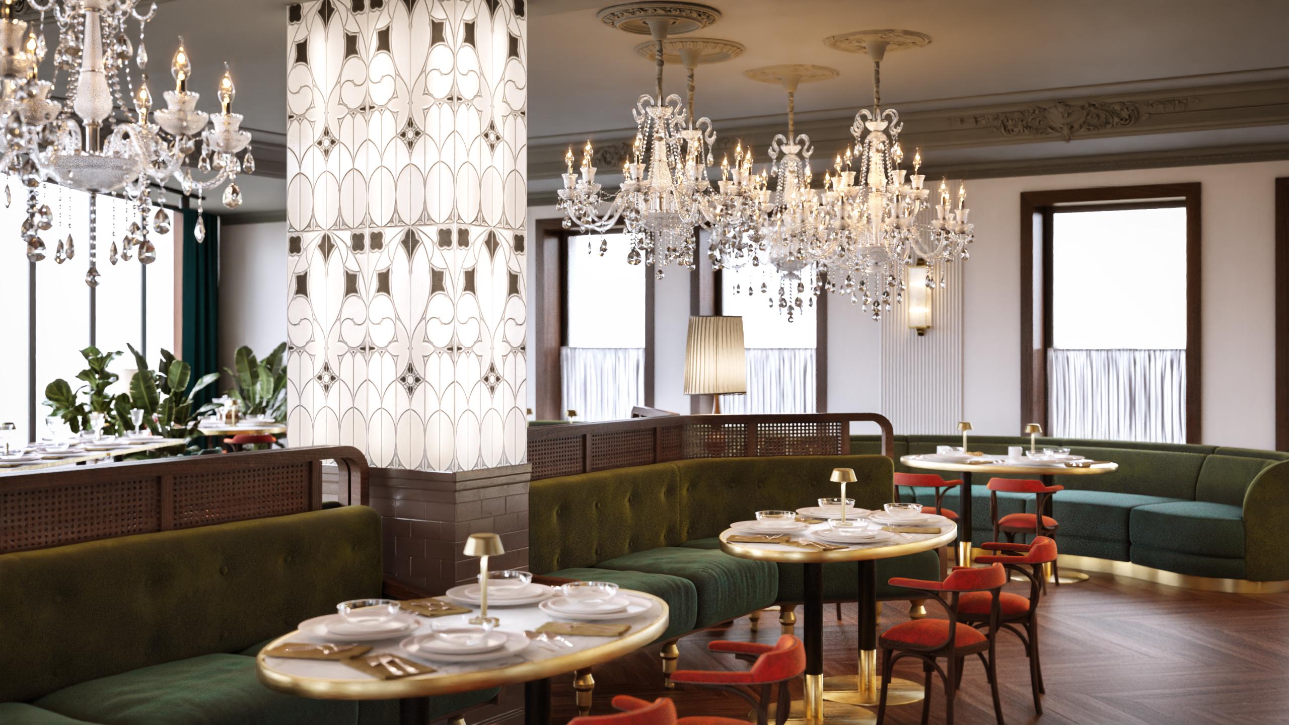 ресторан вкусной еды «Шампарен»